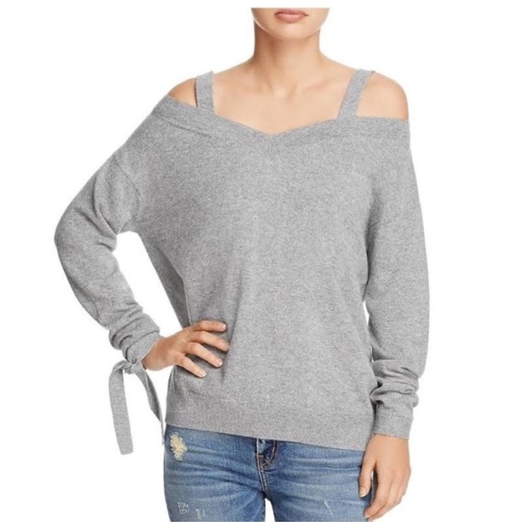 9ca473b2ae Theory Sweaters | Nwt 100 Cashmere Cold Shoulder Sweater | Poshmark